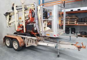 RQG12 - 12m Crawler Mounted Spider Lift & Trailer package