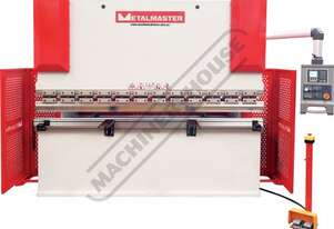 PB-63E Hydraulic NC Pressbrake 70T x 2500mm Estun NC-E21 Control 2-Axis with Leadscrew Backgauge