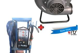 Kemppi MIG TIG Welder Pro Evolution 5200 with Lincoln Welding Fume Extraction Fan
