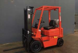 Toyota 5FG-10 1 Ton LPG forklift Container Mast - Refurbished
