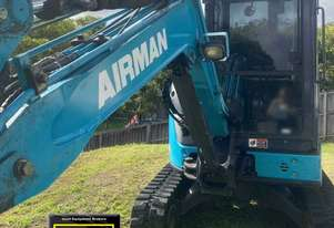 2014 Airman AX38U-6, low hrs, heaps of attachments. E.M.U.S. MS607