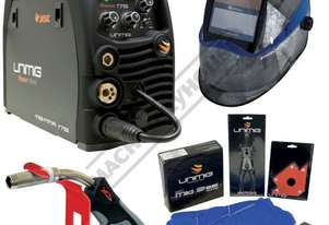 RAZORWELD 175 DC INVERTER Multi-Function Welder-MIG-MMA Package Deal 30-175 Amps, #KUMJRRW175MIG Inc