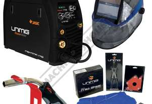 "RAZORâ""¢ 175 DC INVERTER Multi-Function Welder-MIG-MMA Package Deal 30-175 Amps, #KUMJRRW175MIG Incl"