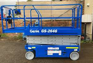 Genie GS 2646 - Electric Scissor Lift (10 Year Tested)