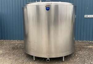 4,800ltr Jacketed Stainless Steel Tank, Milk Vat