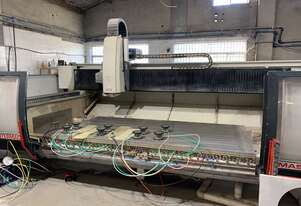 Used - Intermac Master 33CT - Stone or Glass CNC Machine - In Good Working Condition