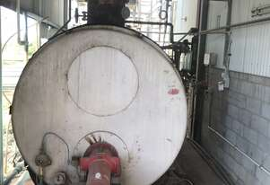 Natural Gas Firetube Steam Boiler