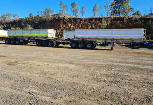 Tristar Industries R/T Combination Side tipper Trailer