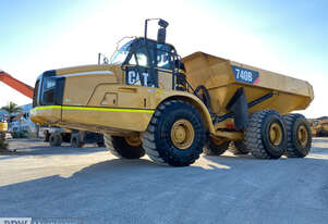 Caterpillar 740B Dump Truck - Choice of 3