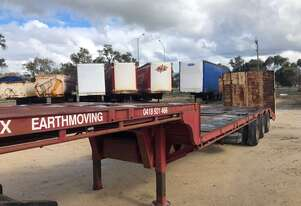 Trailer Drop Deck Beaver Tail Freighter Ramps 45ft SN935 1TML304