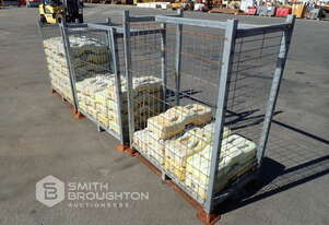 3 X CAGES COMPRING OF TEMPORARY FENCE FOOTINGS