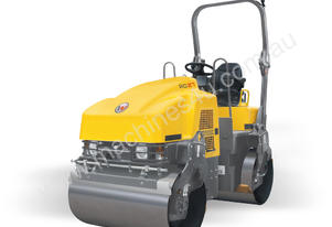 RD27-120, 2.7 tonne double drum vibrating roller