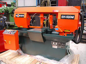 Cosen SH-500M. Semi Auto, Mitre Cutting Bandsaw. - picture0' - Click to enlarge