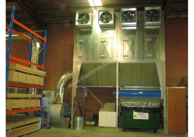 Dust Extraction Reverse Flow Filter Unit ASF4DHLK