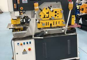 PUNCHTECH 90 TON PUNCH & SHEAR - incl laser punch alignment system