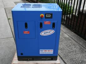 German Rotary Screw - 7.5hp / 5.5kW Air Compressor - picture6' - Click to enlarge