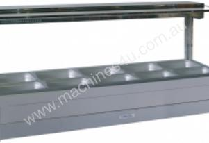 Hot Foodbar Square - Roband S26  Glass Double Row