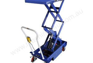 Double Electric Scissor Lift Trolleys 800Kg Capaci