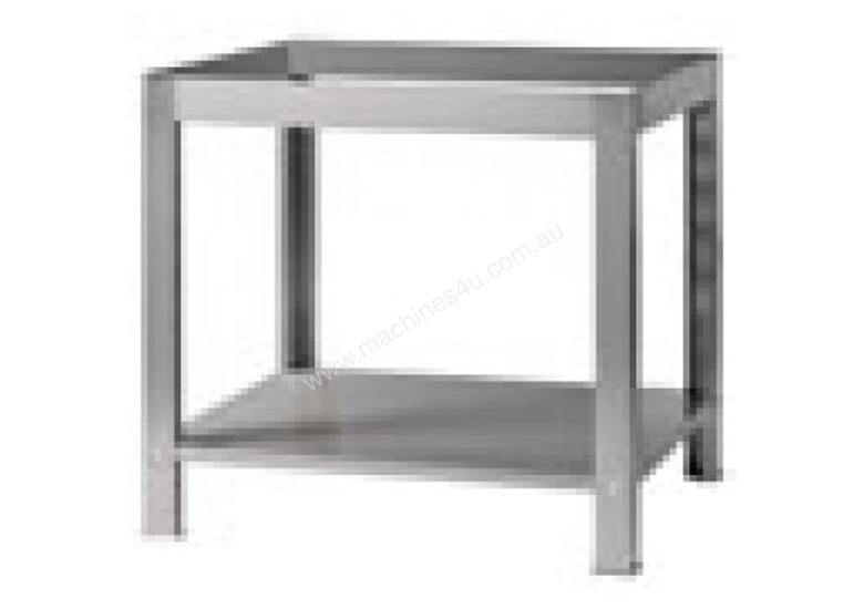 GAM M6G Stand M6G Stainless Steel Stand with Undershelf