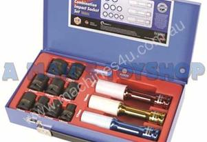 SOCKET SET 1/2DR IMPACT 12 PCS