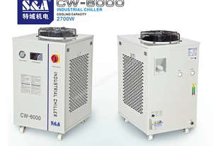 S & A CW-6000 REFRIGERATED INDUSTRIAL CHILLER / INDUSTRIAL WATER CHILLER