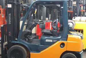 Toyota 8FG25 4m Lift 2.5T Forklift Good Condition