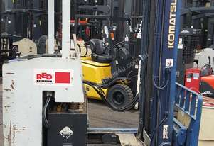 Komatsu High Reach Truck 4500mm Lift