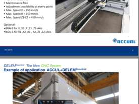 ACCURL 4200mm x 135Ton 5 Axis CNC Pressbrake - picture16' - Click to enlarge