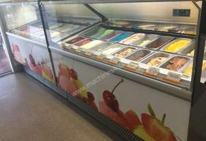 ISA Mellinium 18 Ice Cream / Gelato Display Freezer
