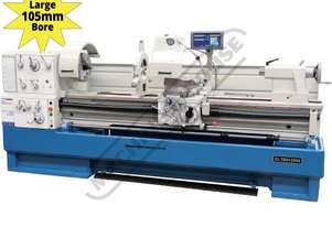 CL-560 Centre Lathe 560 x 2000mm Turning Capacity - 105mm Spindle Bore Includes Digital Readout, Qui