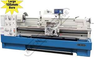 CL-560 Centre Lathe Ø560 x 2000mm Turning Capacity - Ø105mm Spindle Bore Includes Digital Readout,