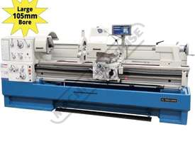 CL-560 Centre Lathe 560 x 2000mm Turning Capacity - 105mm Spindle Bore Includes Digital Readout, Qui - picture0' - Click to enlarge