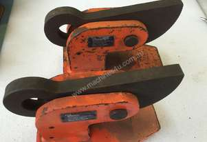 Plate Lifting Clamp set of 2 PWB Anchor 60mm opening x 5 ton per pair