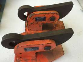 Plate Lifting Clamp set of 2 PWB Anchor 60mm opening x 5 ton per pair - picture0' - Click to enlarge