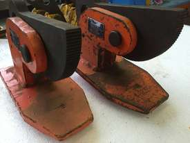 Plate Lifting Clamp set of 2 PWB Anchor 60mm opening x 5 ton per pair - picture2' - Click to enlarge