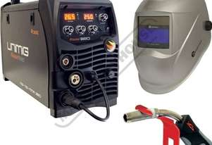 RAZOR 250 MTS Multi-Function Inverter Mig Welder Package Deal 30-250 Amps #KUMJRRW250MIG