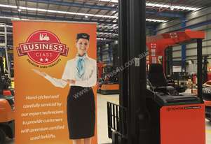 Business Class BT Reach Forklift - Sydney
