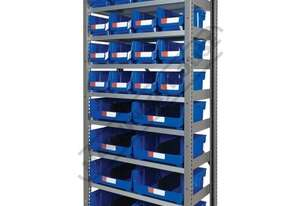 MSR-24 Industrial Modular Storage Shelving Package Deal 943 x 465.4 x 2030mm Includes 16 x BK-210 &