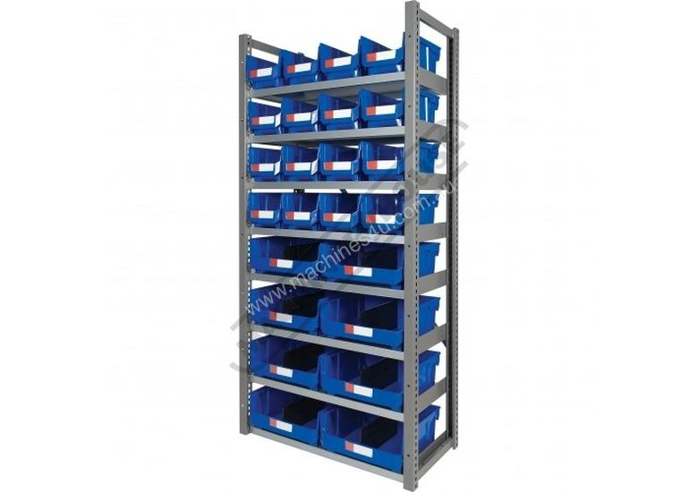 MSR-24 Industrial Modular Shelving Package Deal 943 x 465.4 x 2030mm Includes 16 x BK-210 & 8 x BK-4