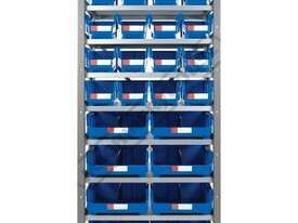MSR-24 Industrial Modular Storage Shelving Package Deal 943 x 465.4 x 2030mm Includes 16 x BK-210 &  - picture2' - Click to enlarge