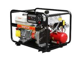 Gentech 4.4kVA Welder Generator Workstation, powered by Honda - picture6' - Click to enlarge