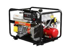 Gentech 4.4kVA Welder Generator Workstation, powered by Honda - picture14' - Click to enlarge