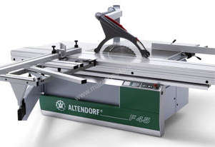 Altendorf F45 panel saw with 3.8m slide