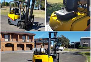 TCM FG18 1.8 ton Forklift LPG GAS *****Low Hours*****