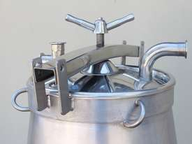 Stainless Steel Conical Tank - picture4' - Click to enlarge