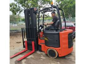 Bendi B40, 1.8Ton (7m Lift) Articulated Narrow Aisle Electric Forklift - picture0' - Click to enlarge