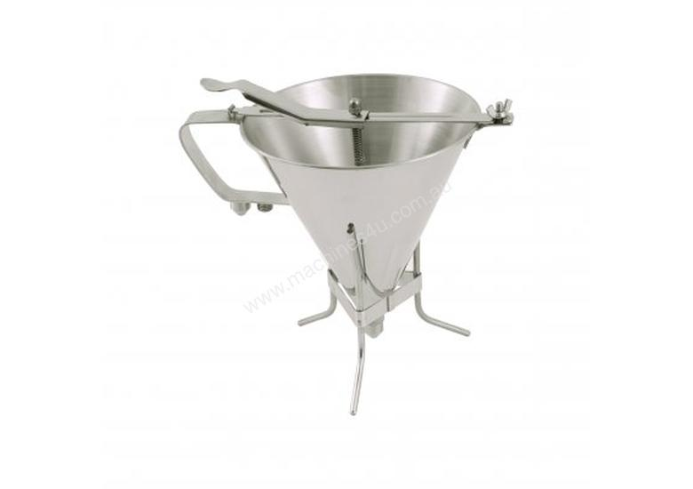 De Buyer Confectionary Funnel with Stand - 1.9lt - 37180