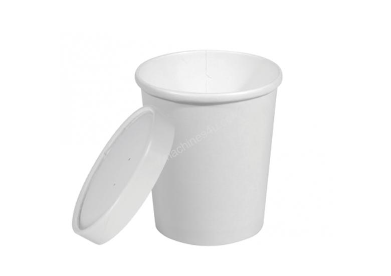 Heavy Weight Paper Containers + Vented Lids - XLarge 32oz