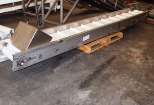 Plastic Intralox Belt Conveyor, 4000mm L x 400mm W