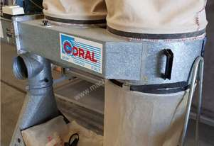 CORAL 2 / 4 BAG DUST EXTRACTORS, Made in Italy, In-Line Design, Mobile SOLD. LEDA Twin Bag SOLD